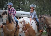Horseback Riding Camp - 5 to 7/8 year olds