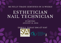Looking for a change? Become an Esthetician - Nail Technician
