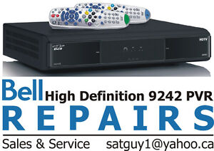 BELL SATELLITE RECEIVER REPAIRS PVR 9241 9242 9400 and 6400Tor