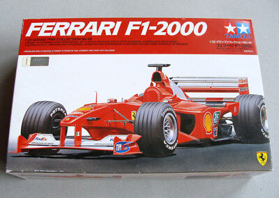 TAMIYA 20048 KIT 1/20 FERRARI F1-2000 FRANCE GP VERSION NUE NUEUE