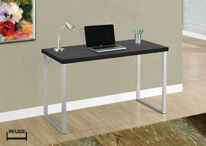 NEW ★ COMPUTER DESK ★ SILVER METAL ★ Can Deliver Cambridge Kitchener Area image 2