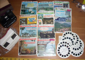 2 Viewmaster - Sawyer - vintage reels incl 1953 Coronation