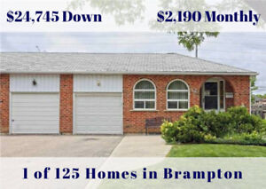 ID #1497 Beat Other Buyers to 125 Just Listed Brampton Homes