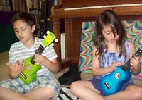 "UKULELE MUSIC LESSONS FOR KIDS . . . ""THE LITTLE GUITAR"""