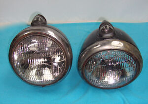 GUIDE 682-C HEADLIGHTS RAT ROD FORD CHEVROLET DODGE OLDS PICKUP