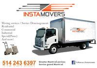 INSTAMOVERS(COMMERCIAL MOVING/DÉMÉNAGEMENT COMMERCIAL)