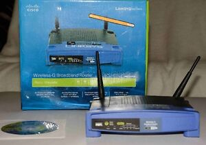 Router Linksys Wireless-G Broadband 2.4 GHZ