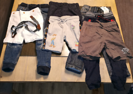 Boys clothes age 3 - 4 year old boys bundle trousers and shorts