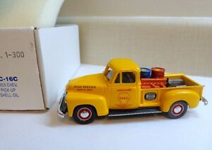 DURHAM CLASSICS DC-16C 1953 CHEVROLET P/UP SHELL OIL