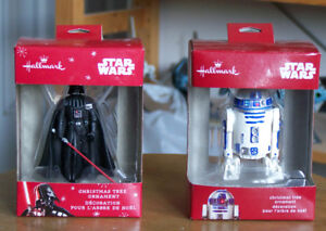 Set of Two Hallmark Star Wars Ornaments