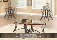 BRAND NEW!! 3 Pc OCCASSIONAL TABLE SET