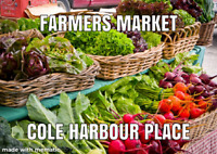 NEW FARMERS MARKET at Cole harbour place this summer