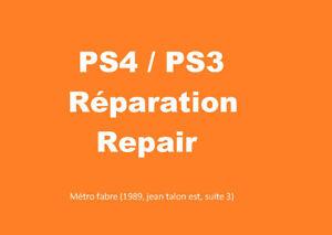LDf✅**    Reparation PS4 PS3 Playstation repair ***LDf✅