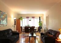 Large 1 bedroom apt with den | Heating + Hot Water included
