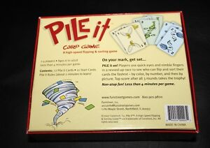 """""""Pile It"""" game for age 6+ complete   Learning game Kingston Kingston Area image 5"""