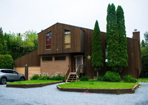 Unique Custom Cedar Home in Rothesay, Huge private lot!!