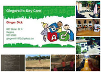 Gingerelli's Daycare September Openings