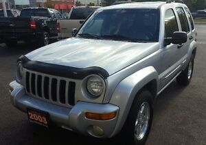 2003 Jeep Liberty Limited SUV, Crossover 2 YRS WAR LOW KM