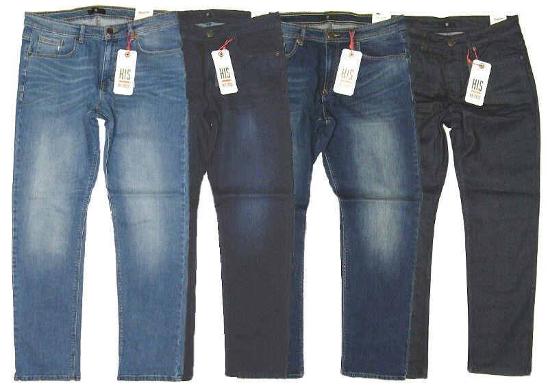 HIS H.I.S ® Herren Reach Jeans Modell STANTON Randy - 4 Farben wählbar ANGEBOT