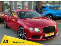 2013 Bentley Continental 4.0 GT V8 2d 500 BHP Auto Coupe Petrol Automatic