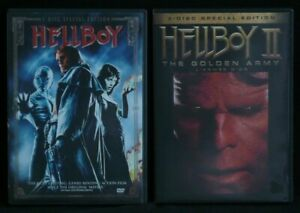 HELLBOY 1+2 The Golden Army dvd sets