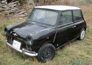 RUST-FREE CLASSIC MINI COOPER S JAPAN SPEC PROJECT NOMOTOR VTEC!