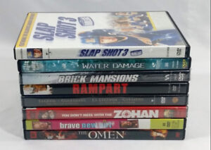 Eight Brand New Sealed DVD Collection Never Opened Bundle