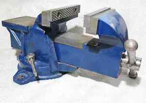 5-inch.Vise With Swivel Base