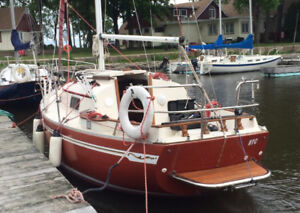Voilier Bayfield Sailboat