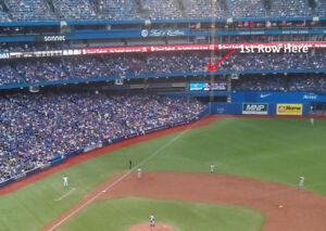 Blue Jays Front Row Tickets (4 together)