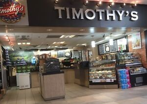 Timothy's world coffee closing all equipments are on sale