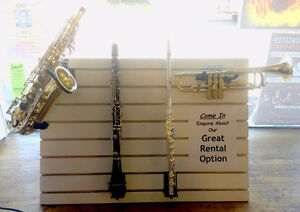 Used instruments and amplifiers @ Mingo Music in Truro