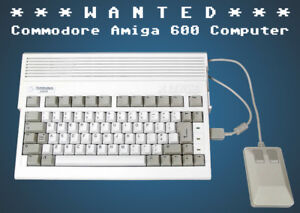Commodore Amiga 600 Computer ★Wanted WORKING or NOT★