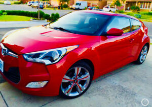 2012 Hyundai Veloster Red for sale