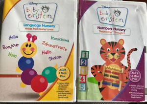 Baby Einstein Numbers and Language 2 DVD discs
