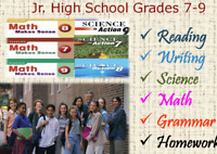 JR. High English and Math tutoring program in NE Calgary.