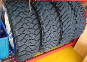 Off-Road tires and rims for Dodge Ram