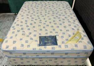 Excellent Pillow Top double bed set for sale. Pick up or deliver