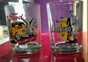 Set of 2 Ford Whiskey Tumblers