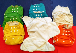 Bamboo pocket diapers
