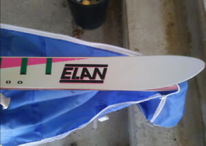 Alpine Snow Skis made by ELAN with Poles with Carrying Bag