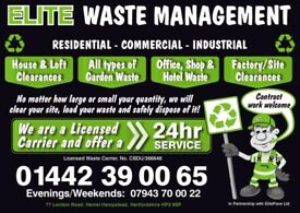WASTE CLEARANCE / RUBISH REMOVAL