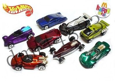 * MIP 1999 McDonalds Hot Wheels Mint Set - Lot of 8  on Rummage