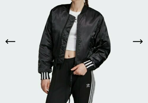 Adidas ED7630 Women Size XL Originals Cropped Bomber Track t