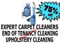SHORT NOTICE 24.7 Deep End of Tenancy Cleaning London Professional Carpet Steam Cleaners Domestic