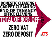 PROFESSIONAL GUARANTEE END OF TENANCY FROM £6 CARPET CLEANING MOVE-IN CLEANERS, DOMESTIC SERVICES