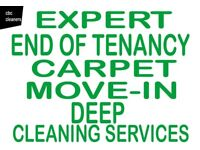 SHORT NOTICE PROFESSIONAL LOCAL PROPERTY END OF TENANCY CLEANERS CARPET CLEANING MOVE IN CHEAPEST