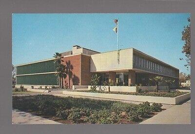 California Postcard 1960S  City Hall Bakersfield Ca Built In 1955