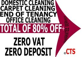 ALL LONDON SHORT NOTICE END OF TENANCY CLEANERS CARPET DOMESTIC BUILDERS CLEANING SERVICES AVAILABLE