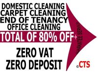 50% OFF ALL LONDON DEEP END OF TENANCY CARPET CLEANER OVEN BUILDERS DOMESTIC HOUSE CLEANING SERVICES